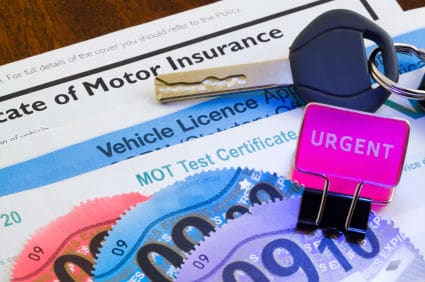 car-insurance-documents-mot-car-tax
