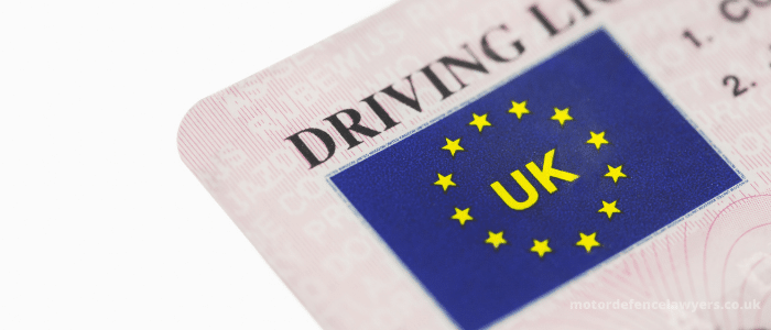 What does having 9 points on your licence mean?